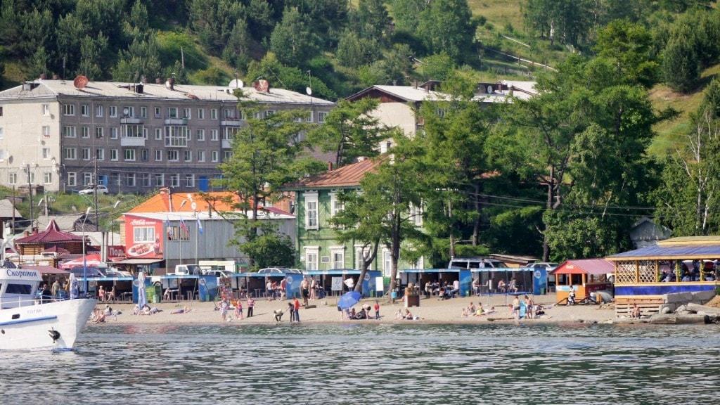 Lake Baikal coast