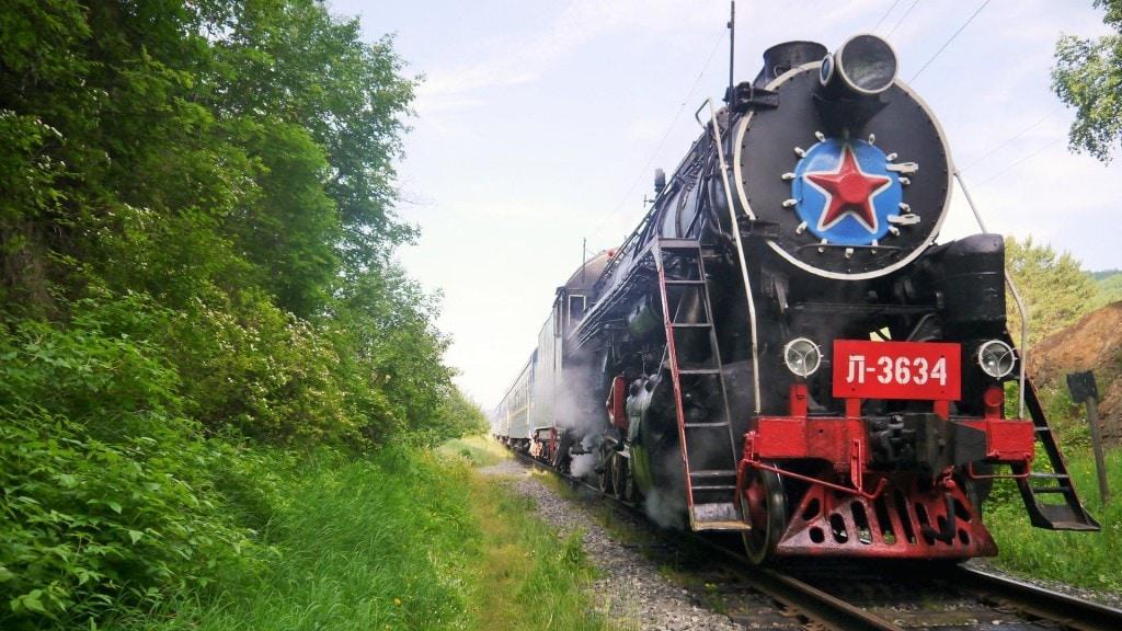 Golden Eagle locomotive