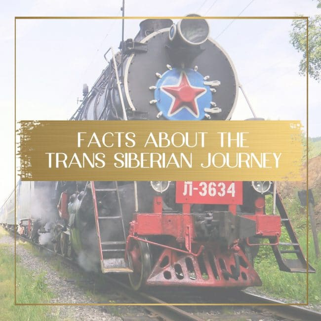 Facts about the Trans Siberian feature