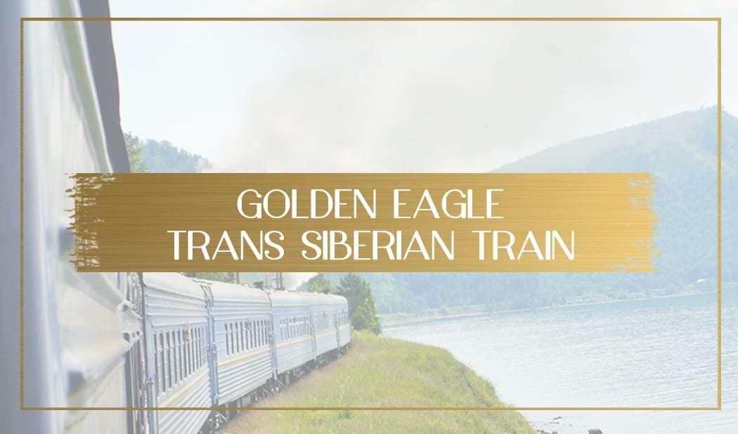 Golden Eagle Trans Siberian Train main