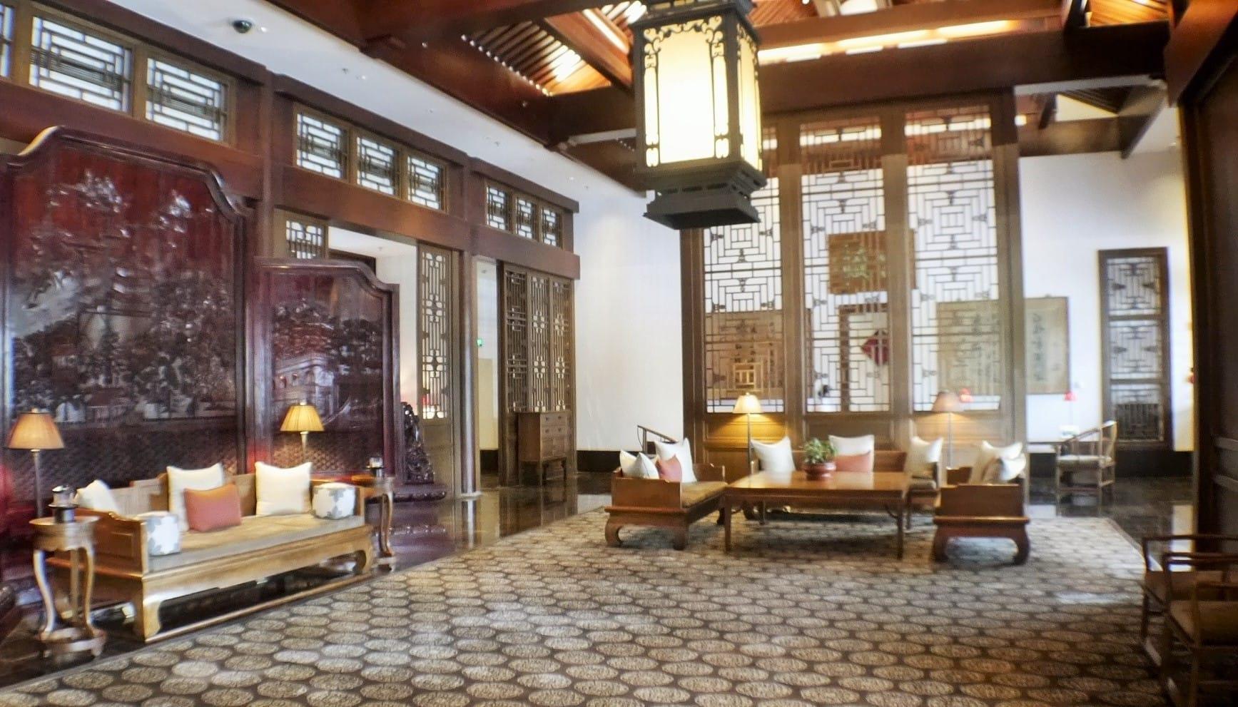 Reception at Aman Summer Palace