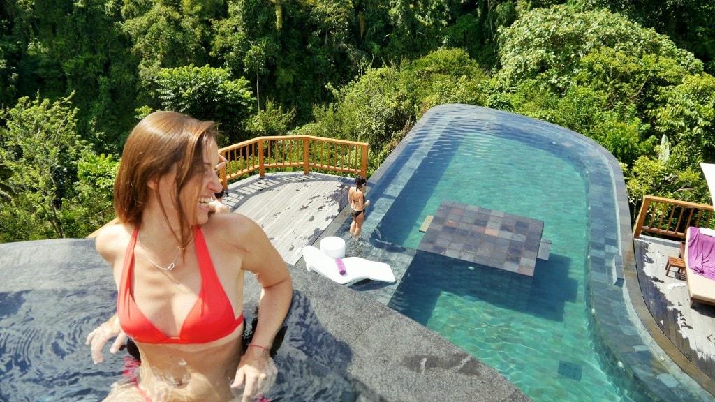 Hanging Gardens split pool