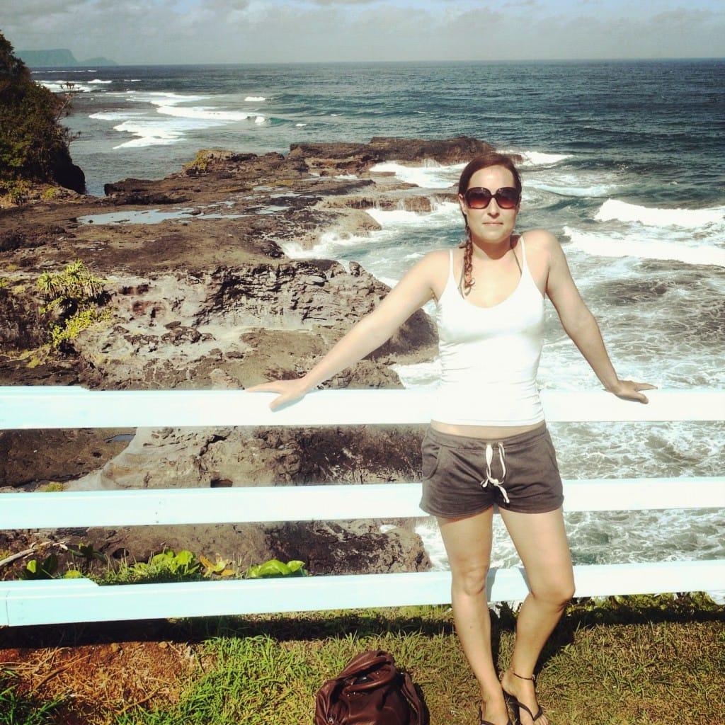 Me, touring Samoa
