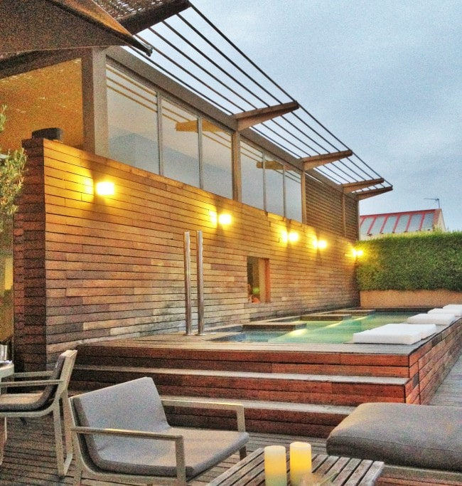 Omm Rooftop terrace