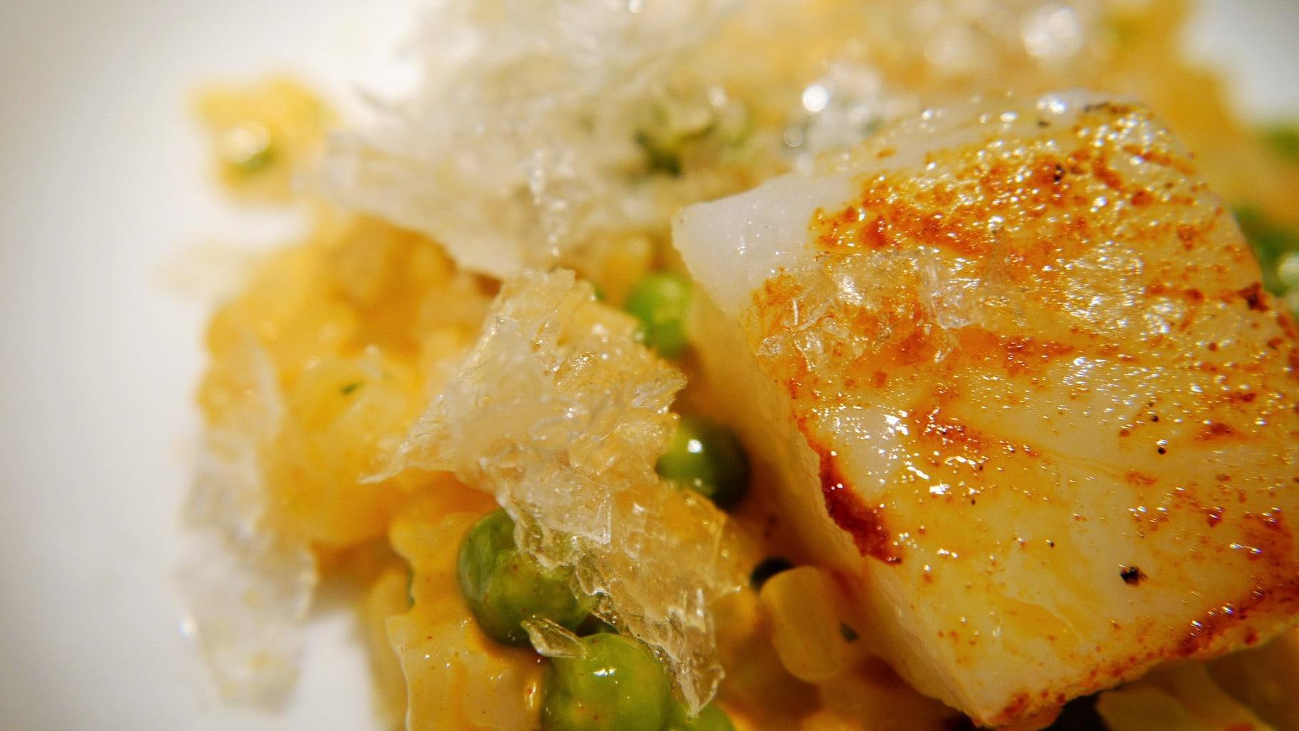 Cod fish Restaurant Cinc Sentits Proximity food