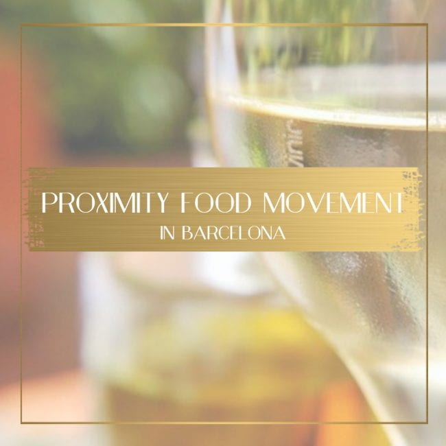 Proximity food movement in Barcelona feature