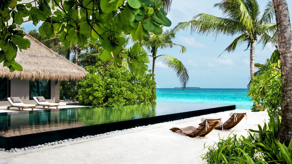Maldives luxury resorts Cheval Blanc