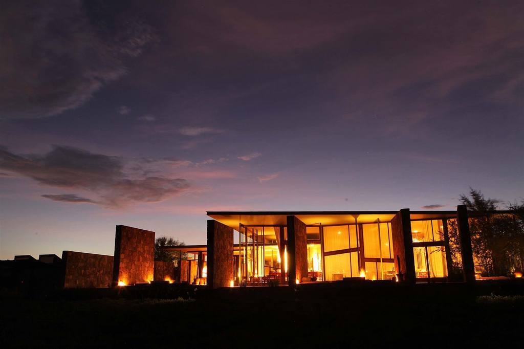 Night view of Tierra Atacama