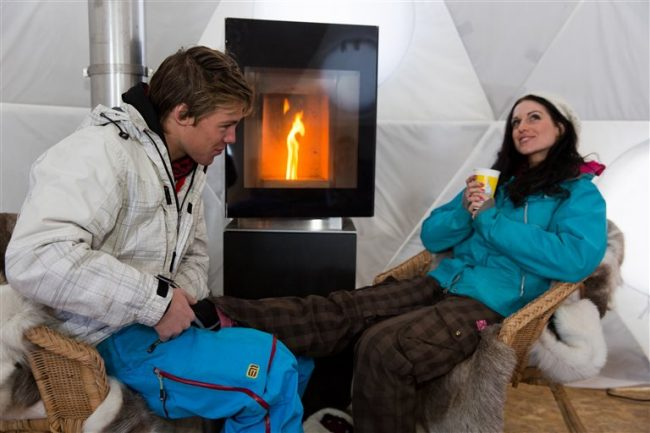 igloo ice hotels