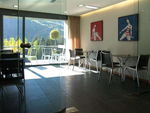 Andorra Park Hotel eating area