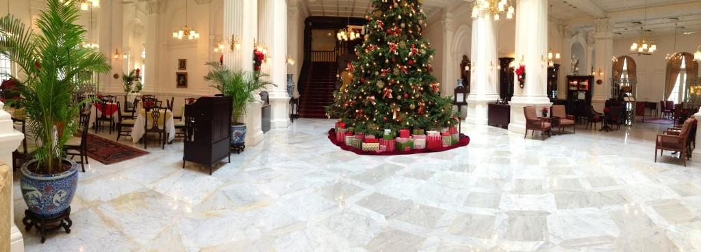 Lobby Raffles Hotel Singapore