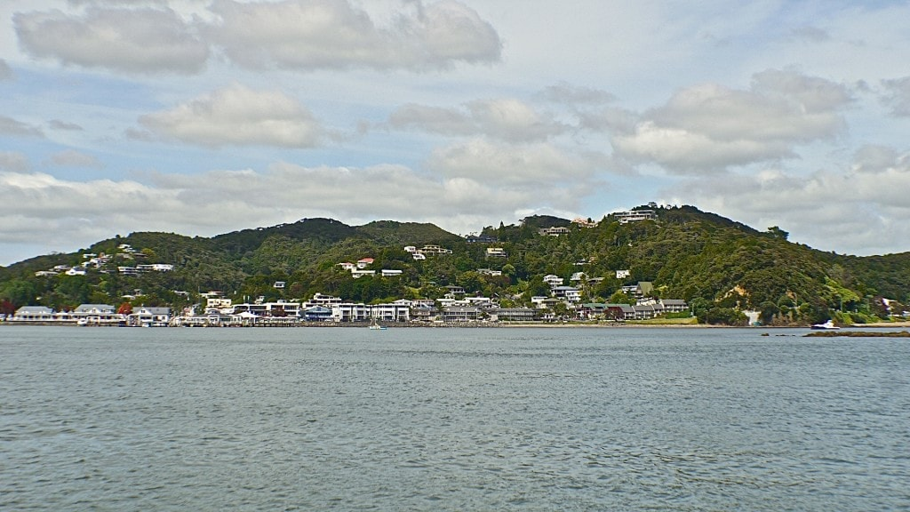 Russell new zealand, from the ferry