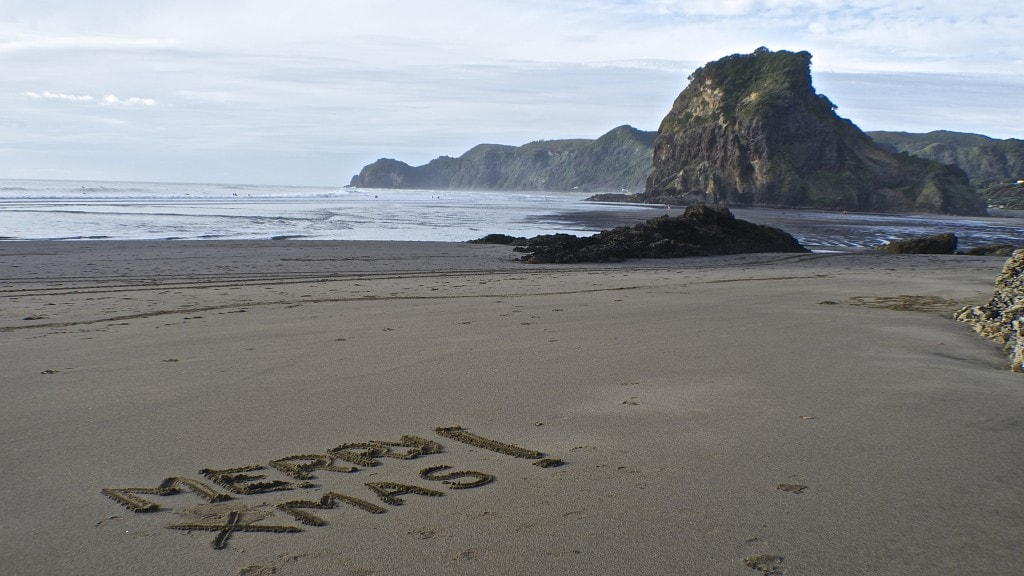 Piha Beach for Christmas by myself