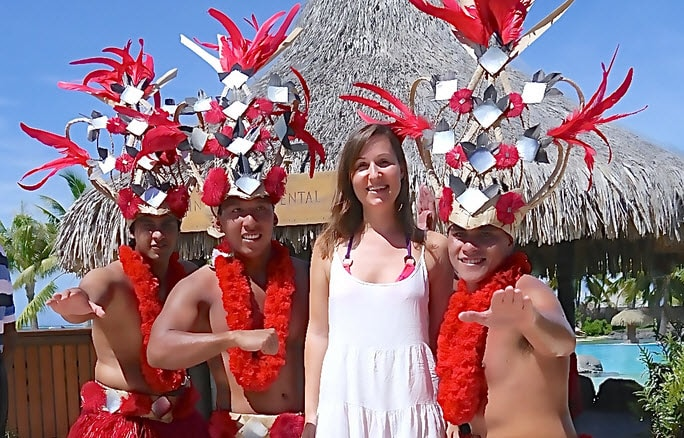 Christmas two days with Tahiti dancers