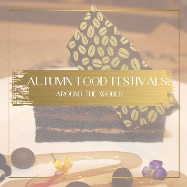 Autumn food festivals