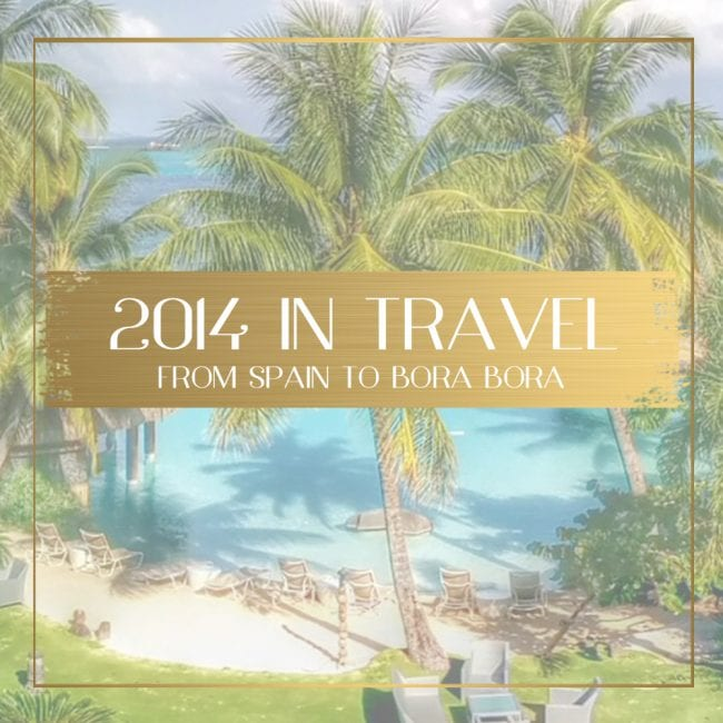 2014 in travel feature