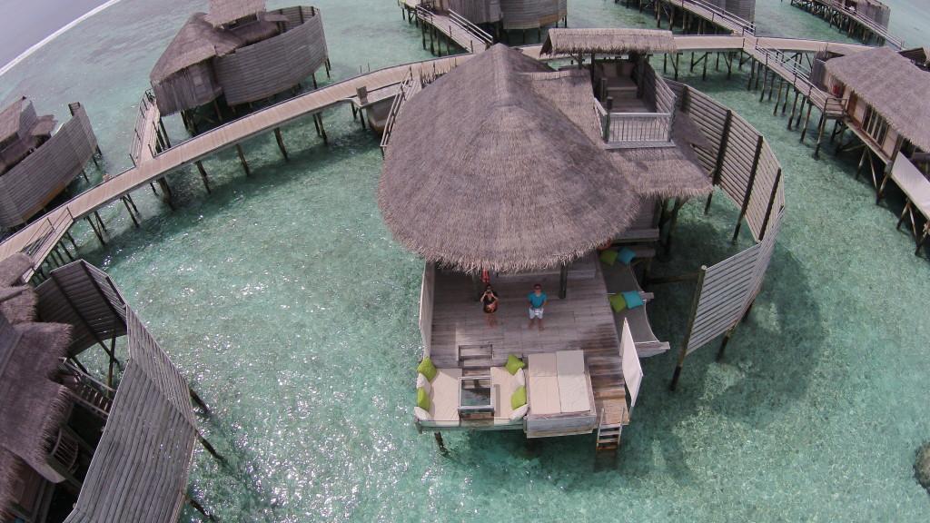 Dronie in the Maldives