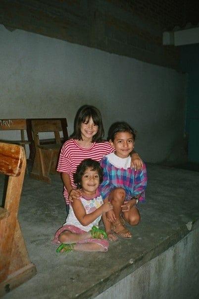 Smiley little girls