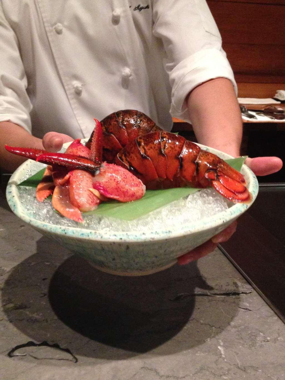 Waku Ghin fresh lobster