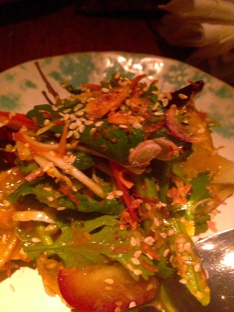 Nahm fruit and vegetable salad