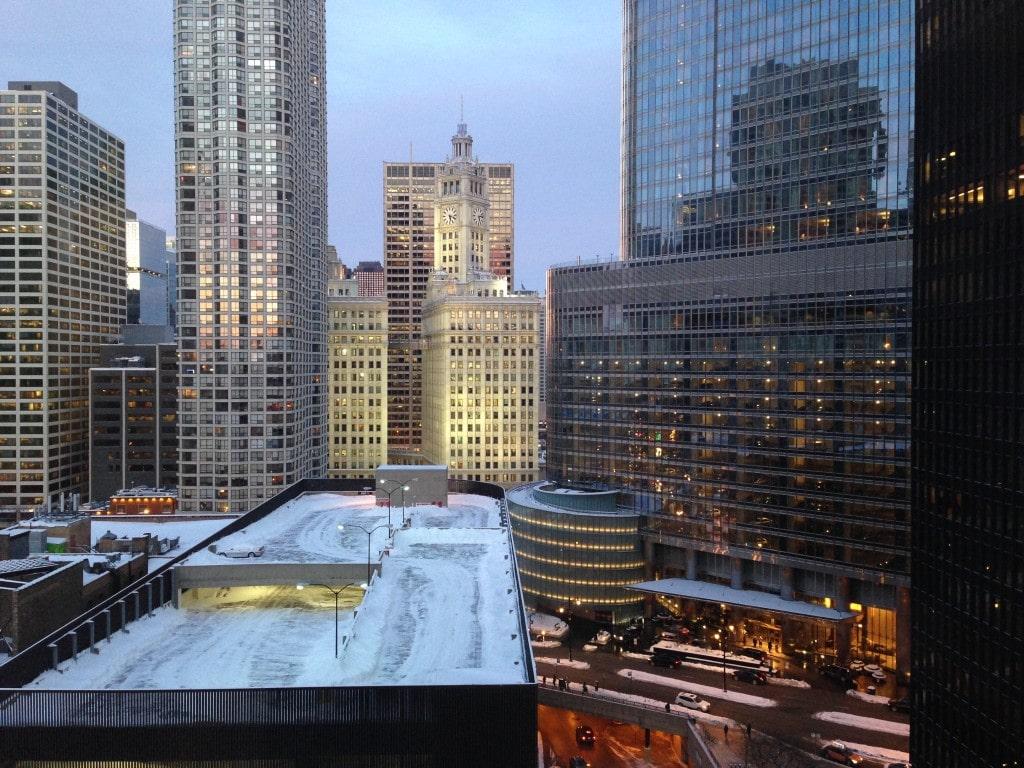 Snowed Chicago