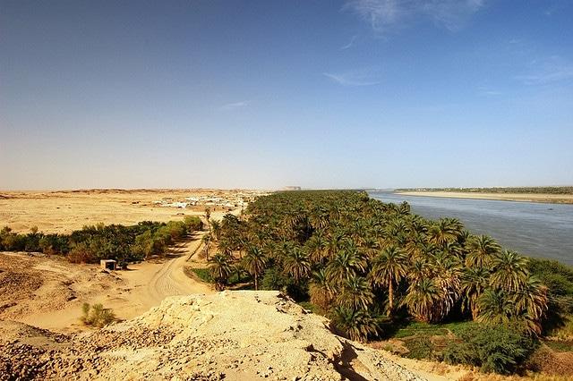 The verdant Nile