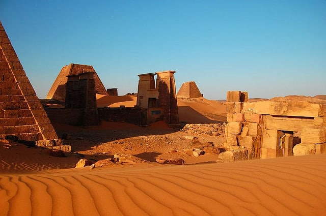 Sites in Sudan