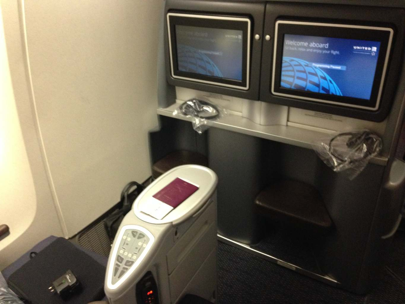 United Airlines Business Class Review