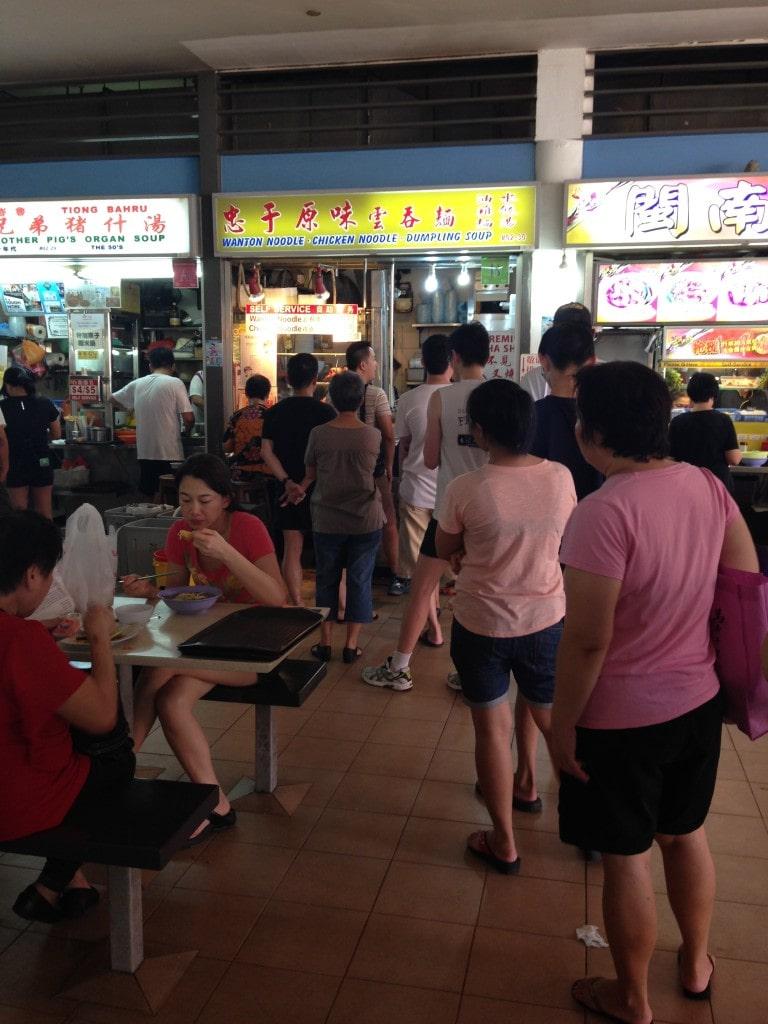 Tiong Bahru Market lines