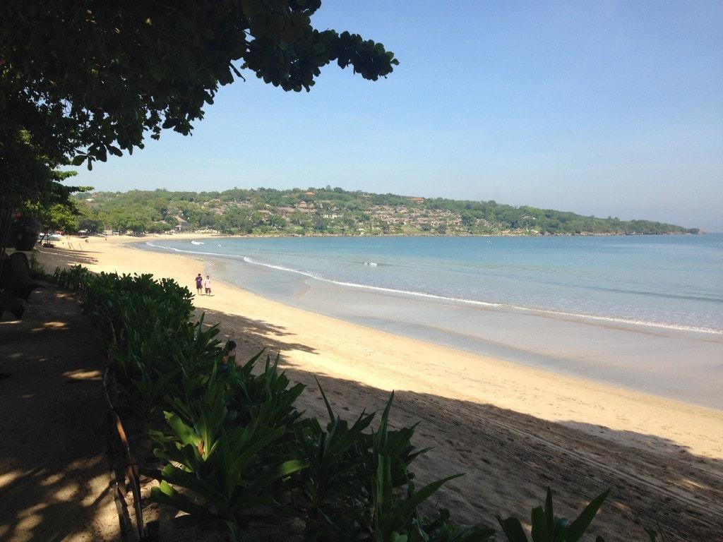 Jimbaran beach at our doorsteps