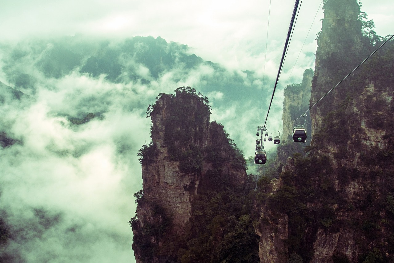 Stone Peak Forest Zhangjiajie
