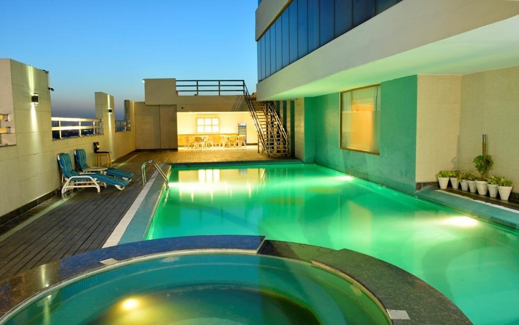 Pool at Park Hotel Lahore