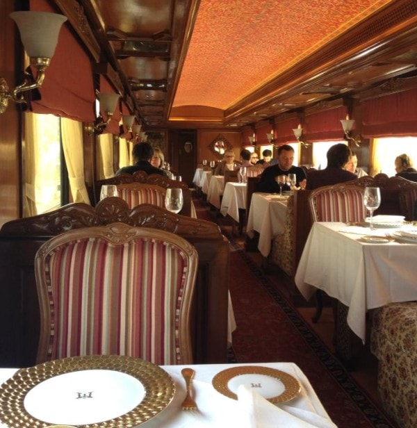 Lunch carriage