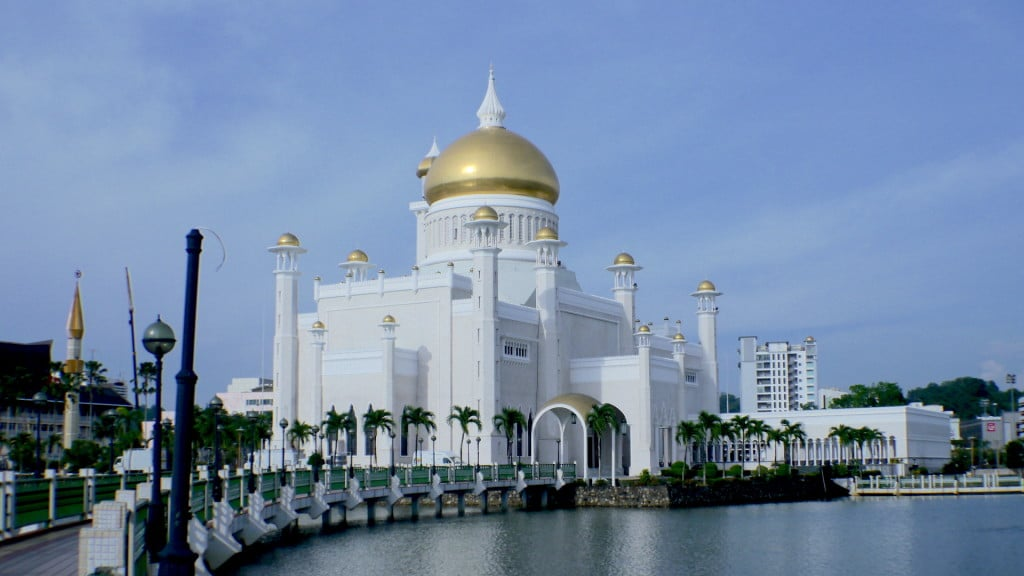 Brunei's main mosque