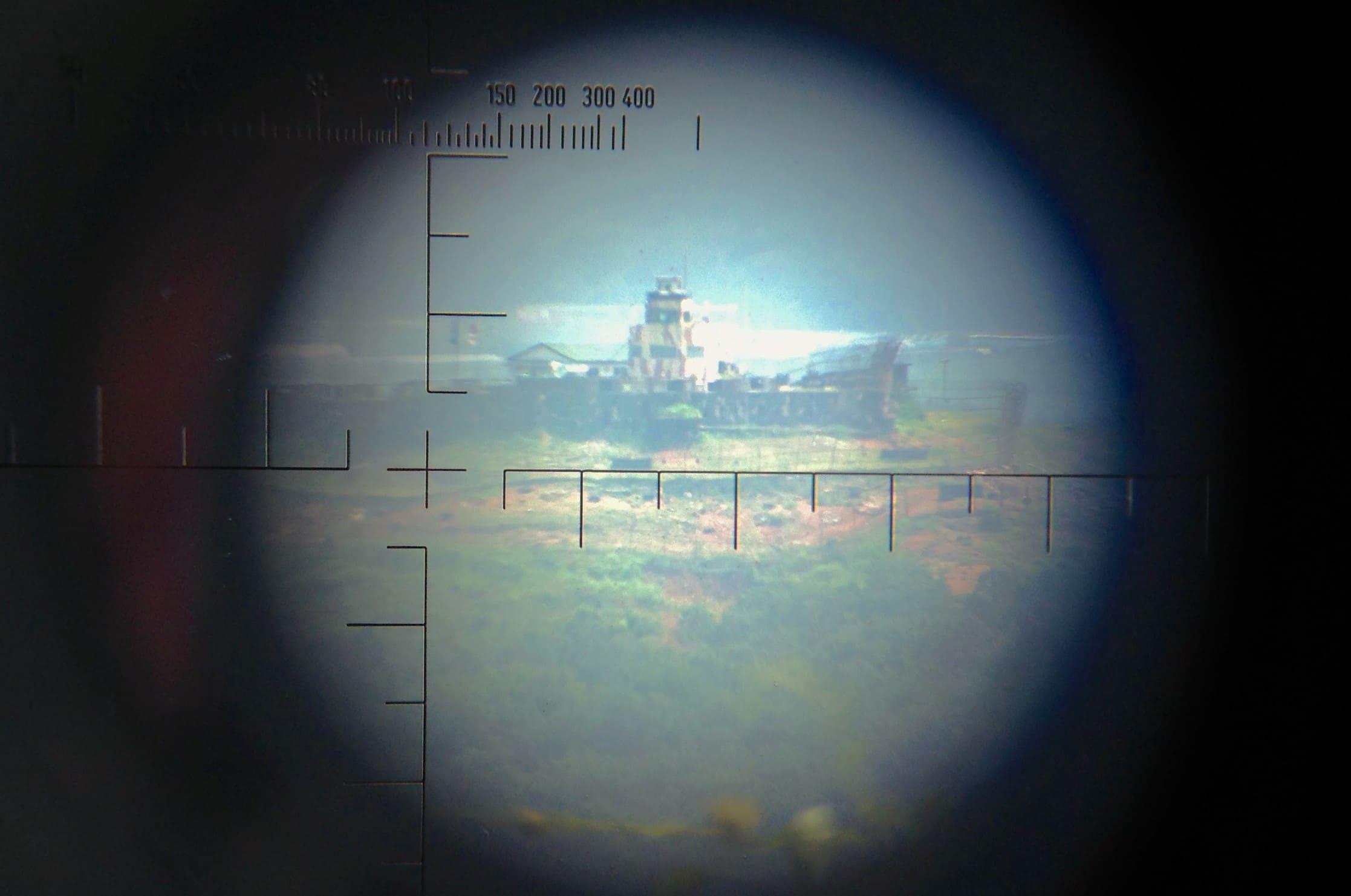 DMZ in North Korea