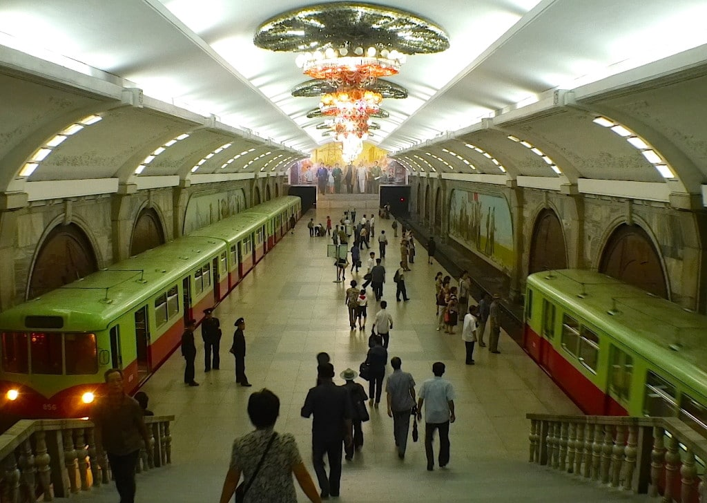 facts about North Korea Pyongyang Metro