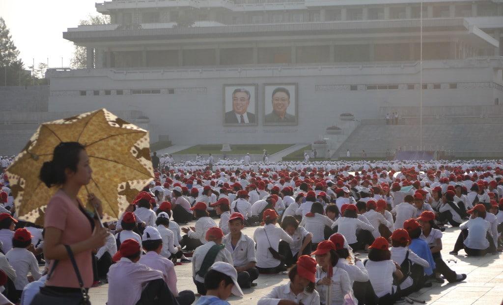 North Korea tour
