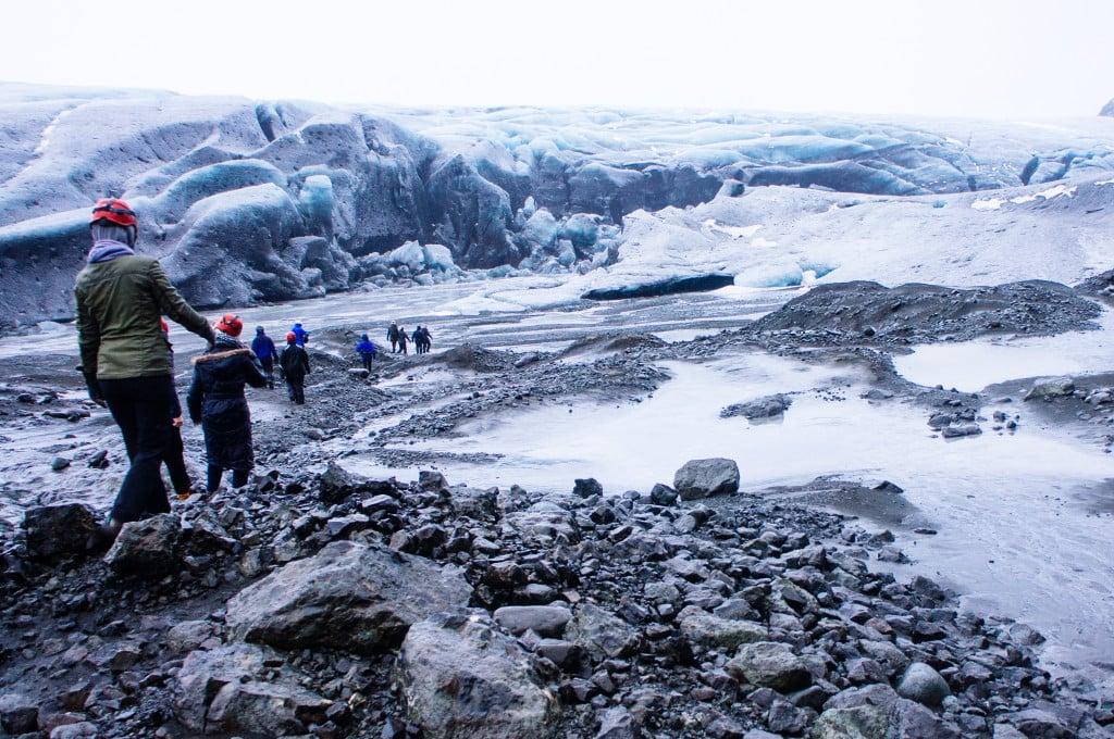 Iceland trekking