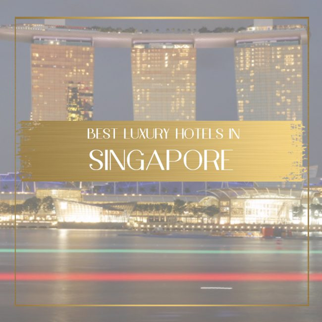 Best luxury hotels in Singapore feature