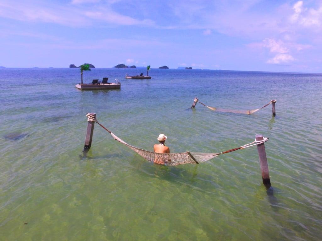 Conrad Koh Samui hammocks