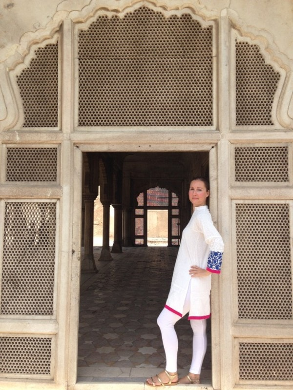At the Lahore Fort