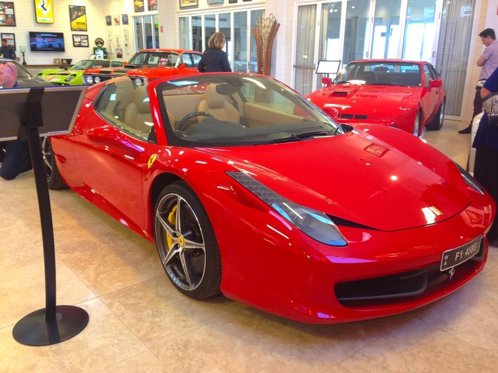 Aravina's car collection