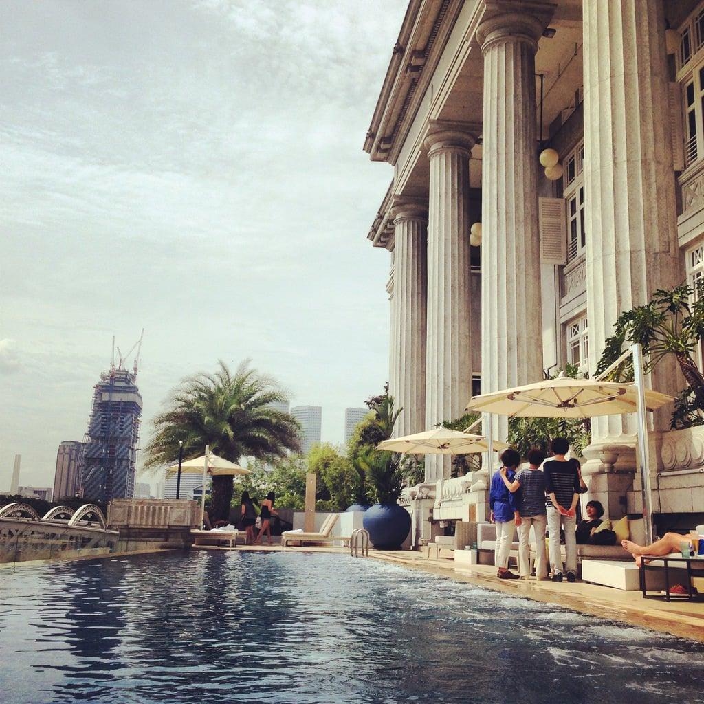Fullerton Hotel pool