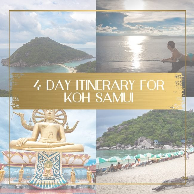 Koh Samui Itinerary Feature
