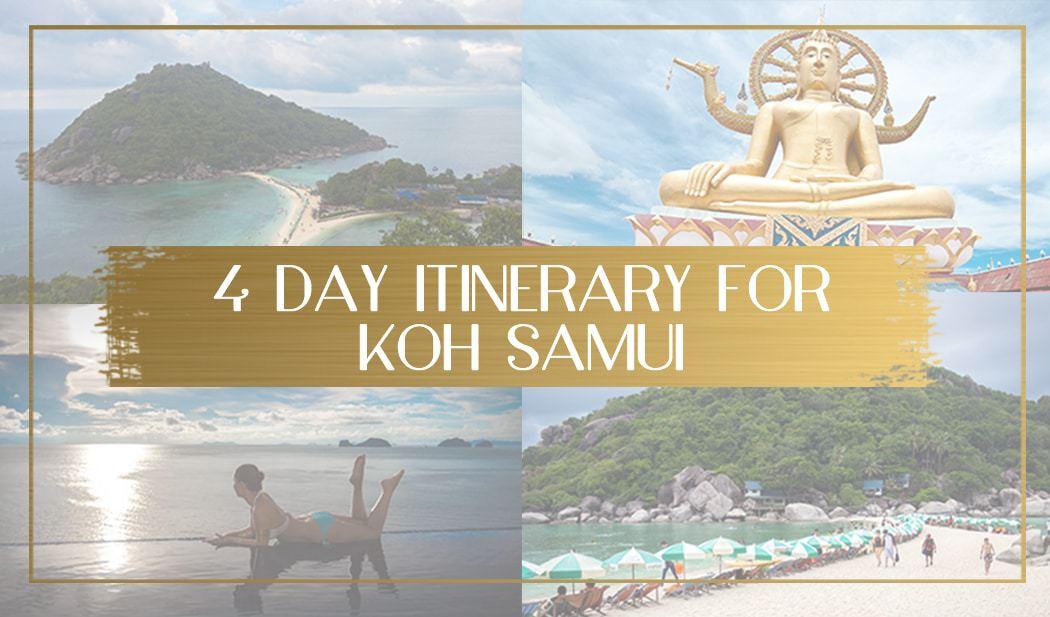 Koh Samui Itinerary Main