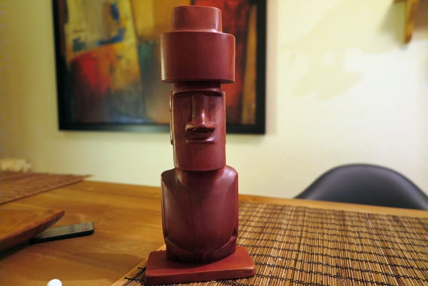 Souvenirs from around the world: Moai Statue
