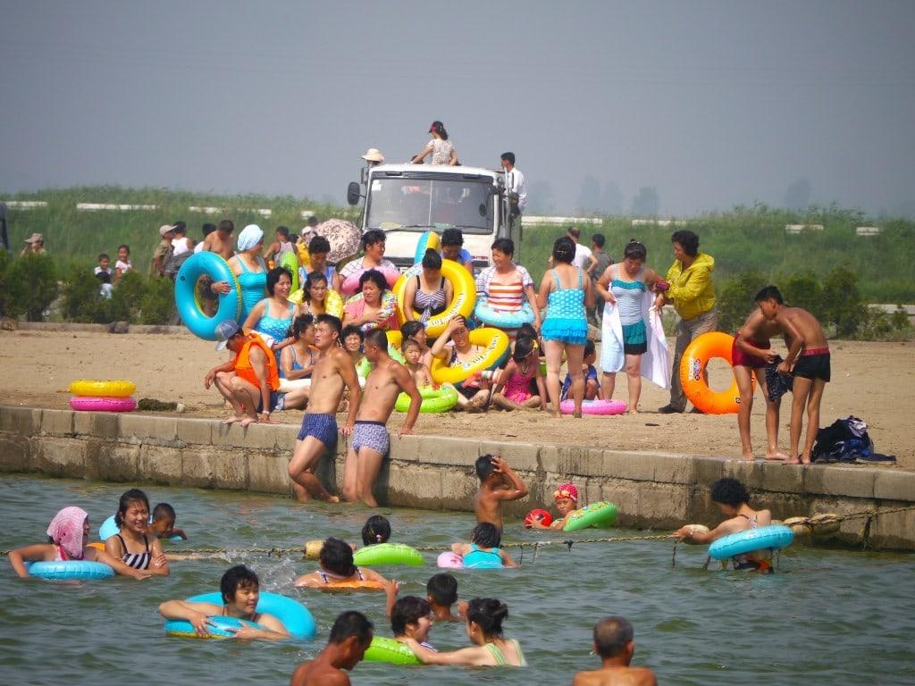 North Korea's beach