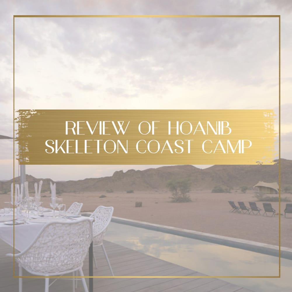 Hoanib Skeleton Coast Camp feature
