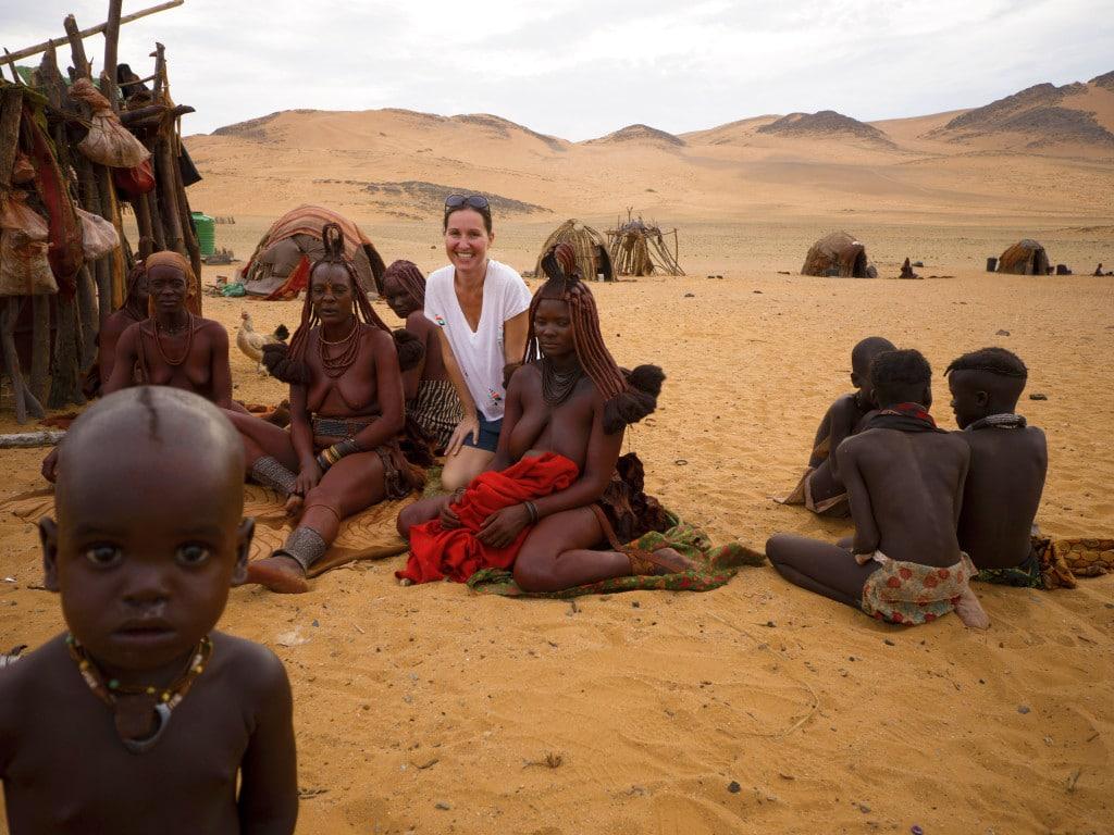 Funny Himba boy