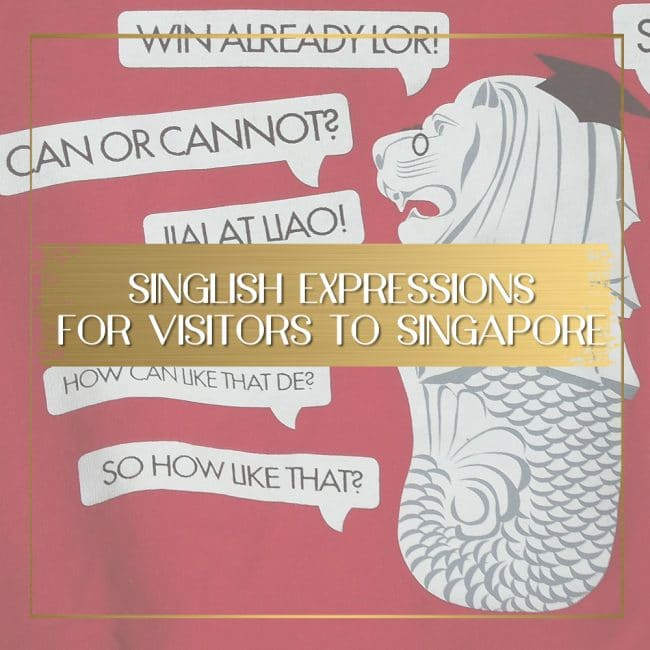 Singlish Expressions feature
